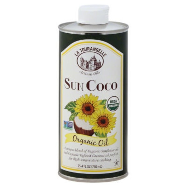 La Tourangelle Sun Coco Organic Sunflower Coconut Oil Blend