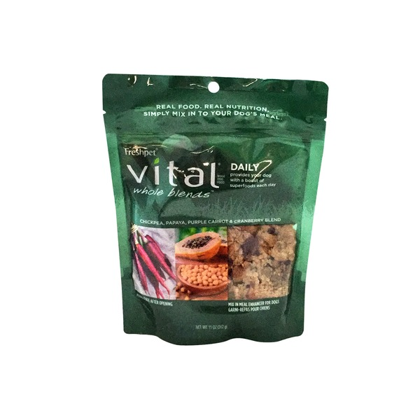 Freshpet Vital Whole Blends Daily Recipe, Mix In Meal Enhancer for Dogs