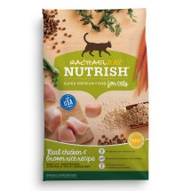 Rachael Ray Nutrish Natural Dry Cat Food, Chicken & Brown Rice Recipe, 3 lbs