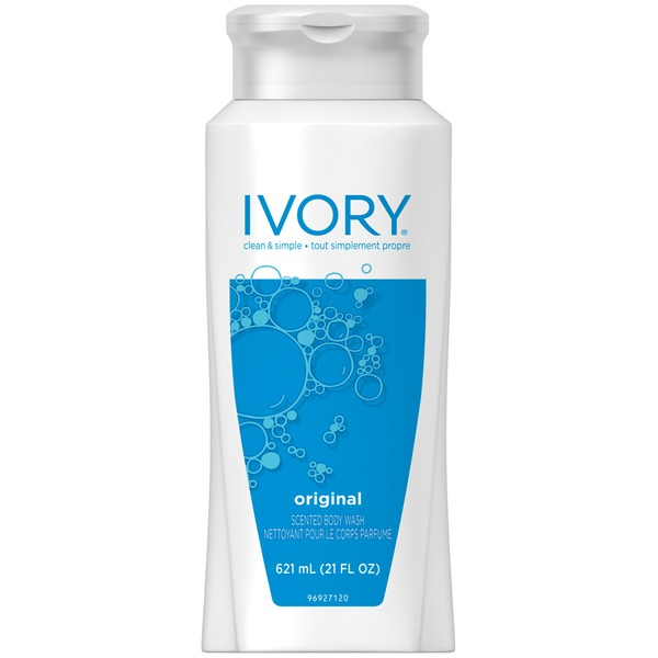 Ivory Original Body Wash 21oz  Female Personal Cleansing