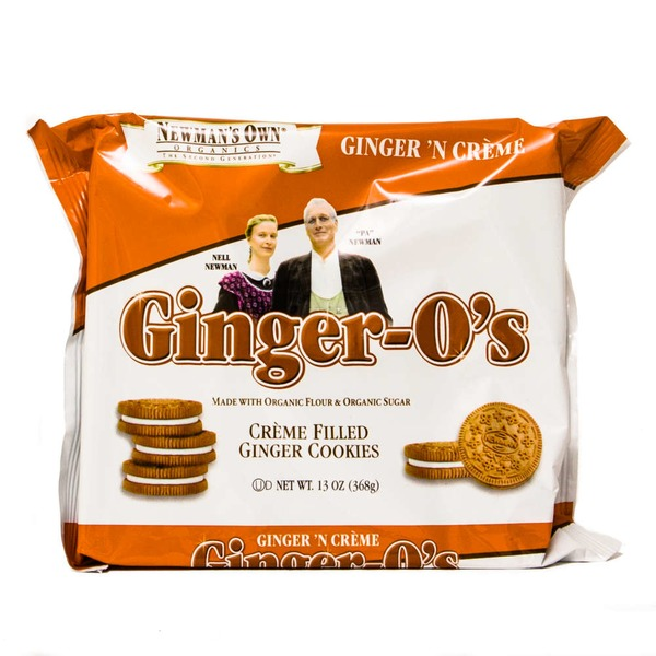 Newman's Own Ginger-O's Creme Filled Ginger Cookies