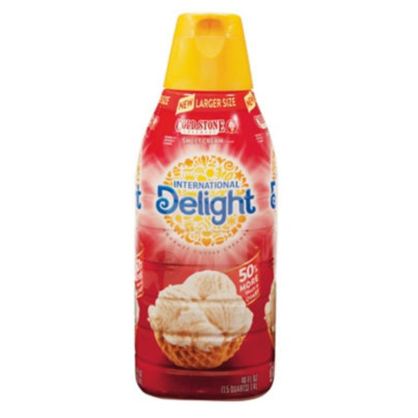 International Delight Cold Stone Creamery Sweet Cream Coffee Creamer