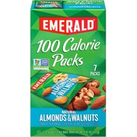 Emerald. Natural 100 Calorie Packs Almonds & Walnuts