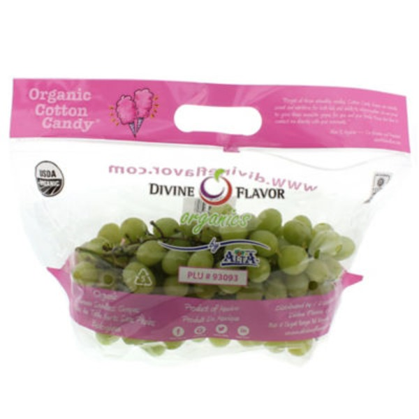 Divine Flavor Cotton Candy Grapes