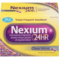 Nexium 24 Hr Delayed-Release Clear Minis Capsules Acid Reducer