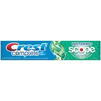Crest Whitening Plus Scope Crest Complete Whitening Plus Scope Minty Fresh Flavor Toothpaste 6.2 oz Dentifrice