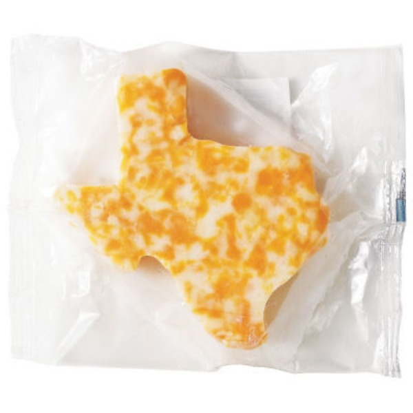 Great Lakes Glads Texas Shaped Colby Jack Cheese, Sold by the Pound