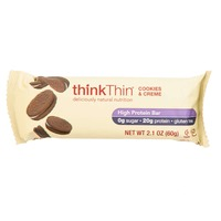 thinkThin High Protein Bar Cookies And Creme