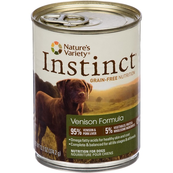 Nature's Variety Dog Food, Venison Formula