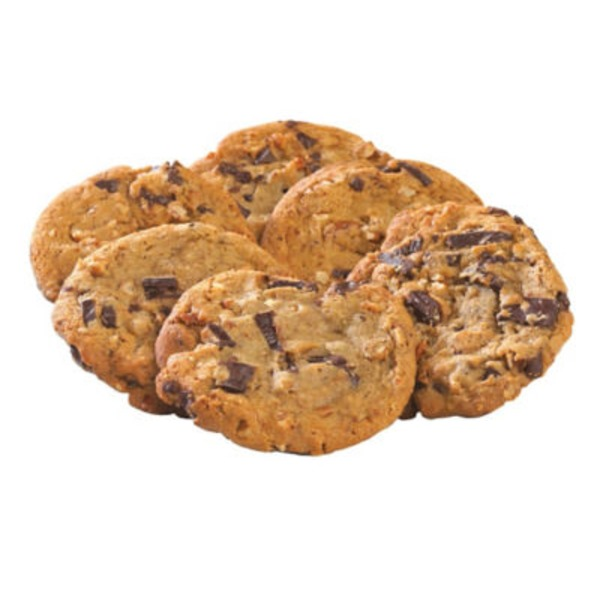 H-E-B Chocolate Chunk And Pecan Gourmet Cookies