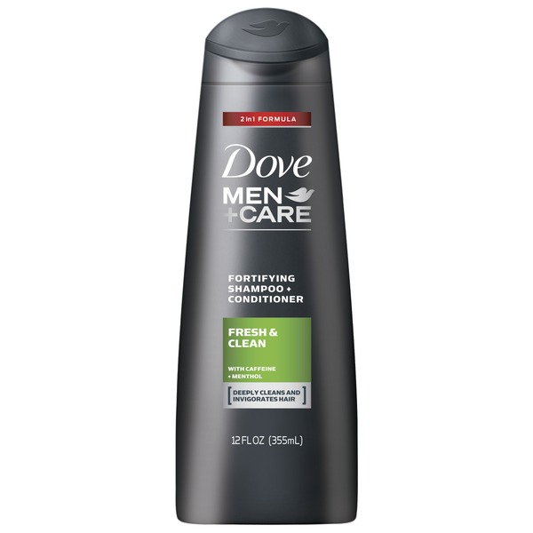 Dove Men+Care Fresh and Clean 2 in 1 Shampoo and Conditioner
