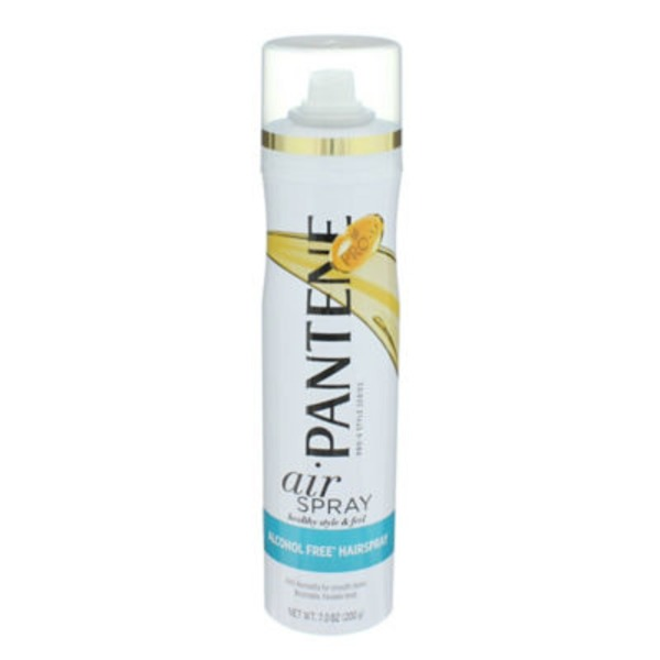 Pantene Smooth & Sleek Pantene Pro-V Smooth Airspray Alcohol Free Hair Spray 7 oz  Female Hair Care