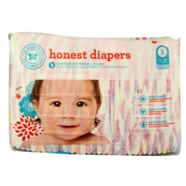 The Honest Company Tribal Pastel Size 3 Diapers