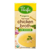 Pacific Organic Low Sodium Chicken Broth