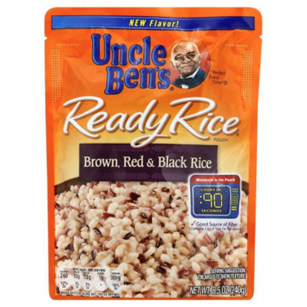 Uncle Ben's Ready Rice Brown, Red & Black Rice