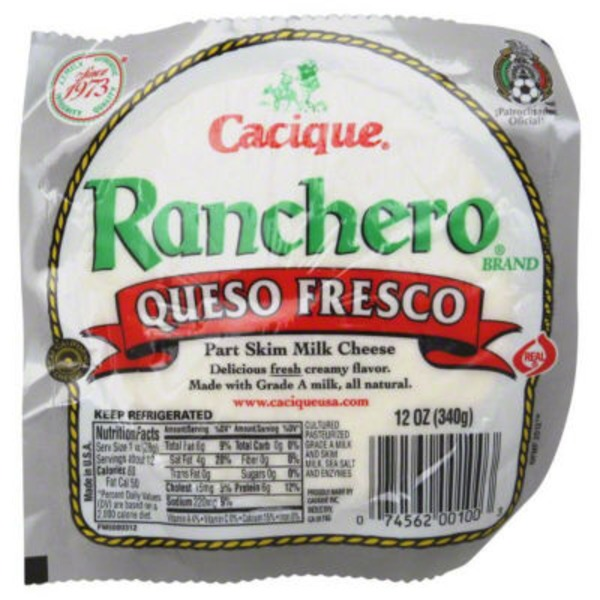 Cacique Ranchero Queso Fresco Cheese