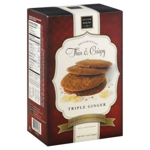 Salem Baking Company Triple Ginger Cookies