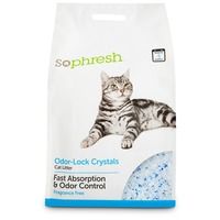 SoPhresh Odor Lock Crystal Cat Litter, Fragrance Free