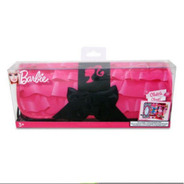 Barbie Clutch And Closet Doll Set