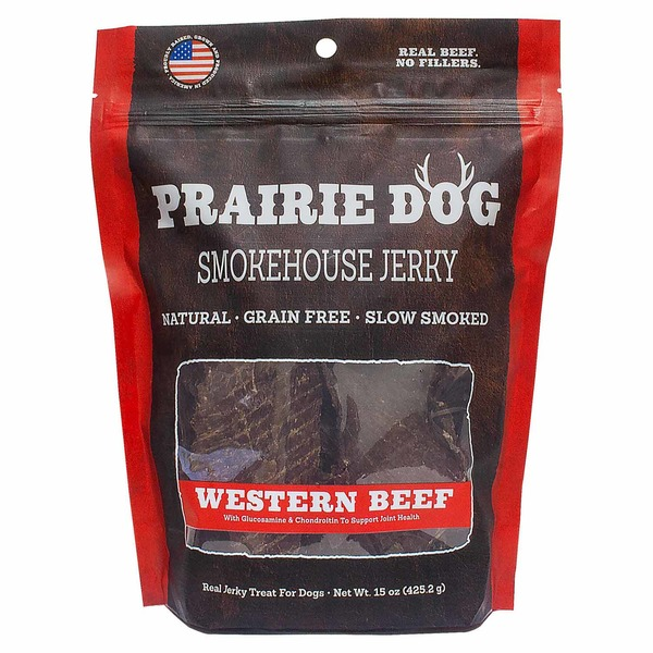 Nature's Miracle Prairie Dog Jerky Western Beef