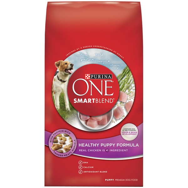 Purina One Dog Dry SmartBlend Healthy Puppy Formula Dog Food