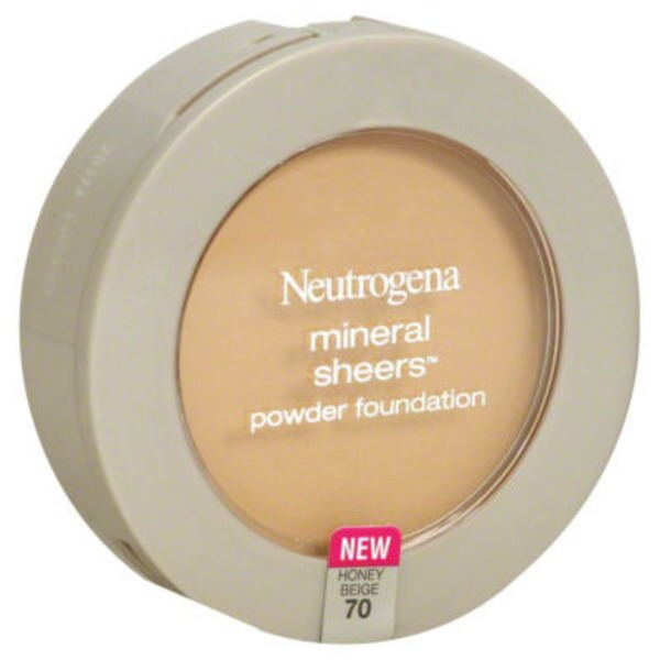 Neutrogena® Powder Foundation Compact Honey Beige/70 Posted 4/3/2014 Mineral Sheers®