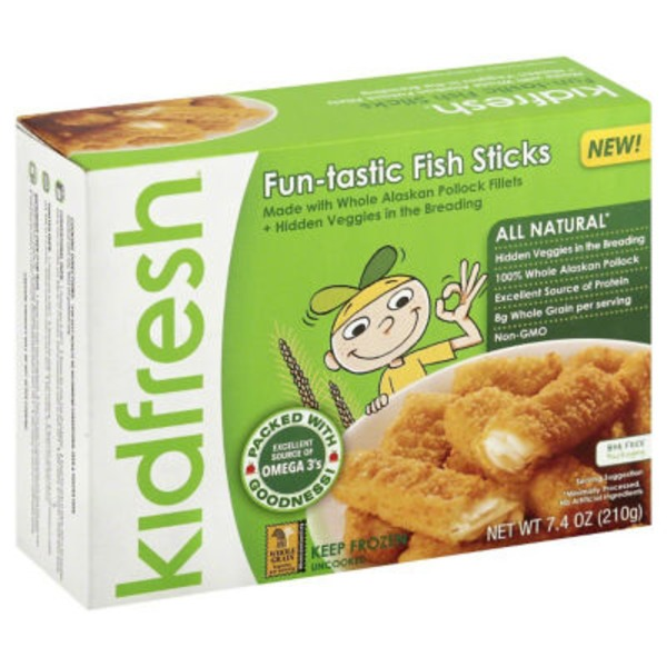 Kidfresh Fun-tastic Fish Sticks