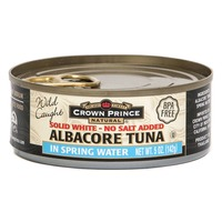 Crown Prince Solid White Albacore Tuna No Salt Added In Spring Water