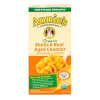 Annie's Homegrown Organic Shells & Real Aged Cheddar Macaroni & Cheese