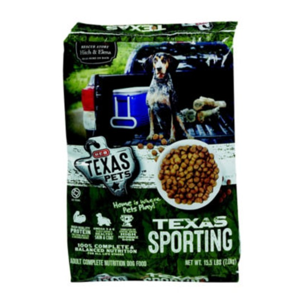 H-E-B Texas Pets Dry Dog Food Sporting Dog Formula