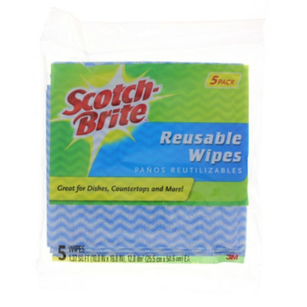 Scotch-Brite Reusable Wipes