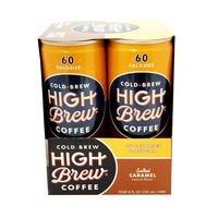 High Brew Salted Caramel Cold Brew Coffee