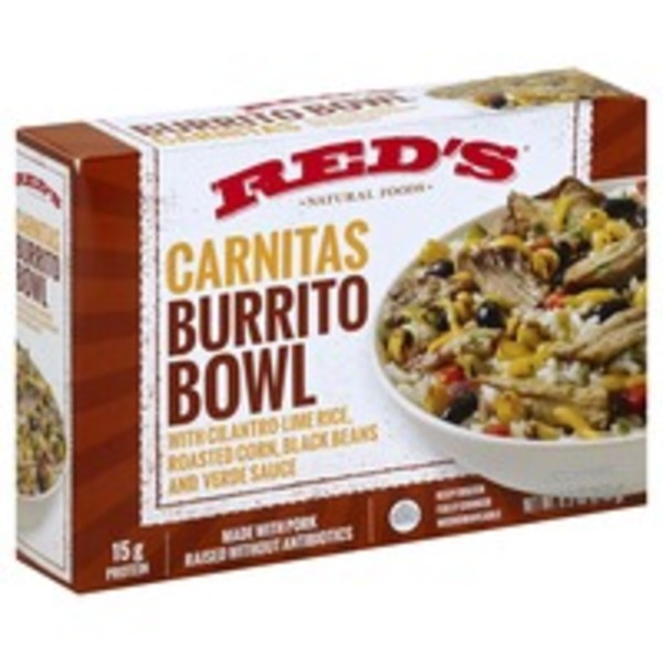 Red's Natural Foods Carnitas Burrito Bowl