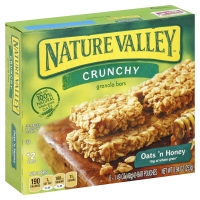 Nature Valley Granola Bars Crunchy Oats N Honey
