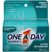 One A Day Women's Active Metabolism Tablets Multivitamin/Multimineral Supplement