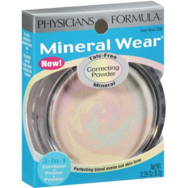 Mineral Wear™ 7038 Creamy Natural Mineral--Creme naturelle minerale Correcting Powder--Poudre correctrice