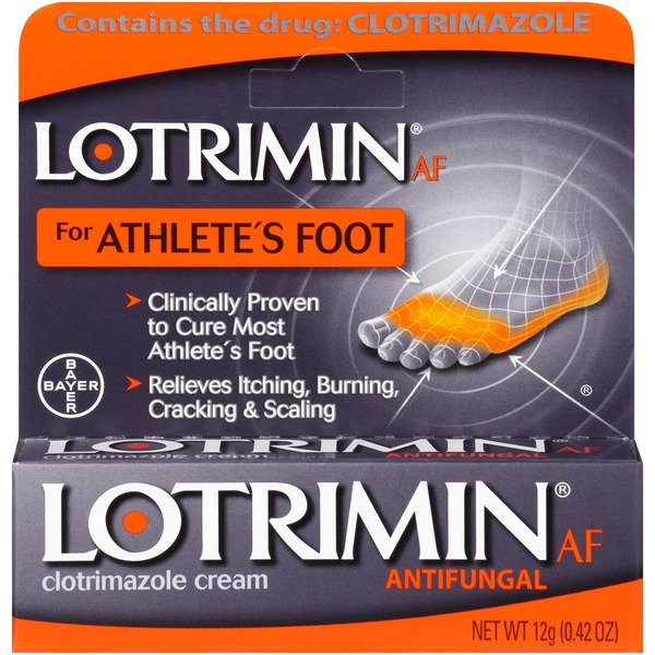 Lotrimin Athlete's Foot 1% Clotrimazole Antifungal Cream
