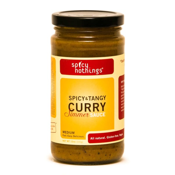 Spicy Nothings Medium Spicy & Tangy Curry Simmer Sauce