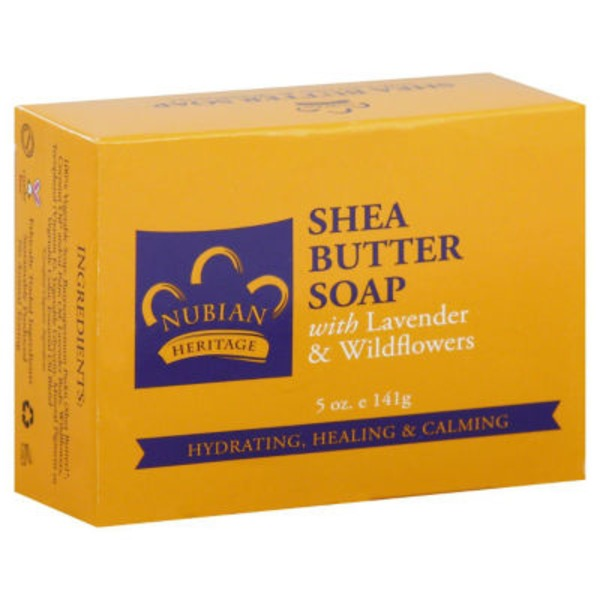 Nubian Heritage Soap, Shea Butter, Box