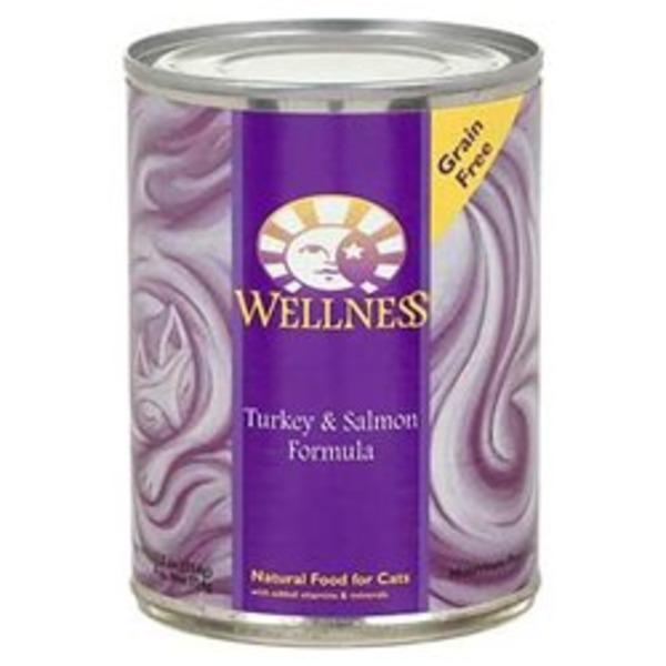 Wellness Adult Turkey And Salmon Formula Canned Cat Food