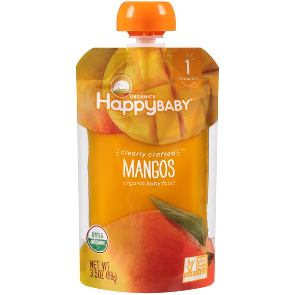 Happy Baby/Family Mangos Organic Baby Food