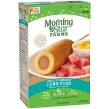 Morningstar Farms Veggie Corn Dogs, 10 Oz