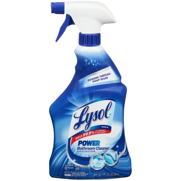 Lysol Power Soap Scum & Shine Bathroom Cleaner