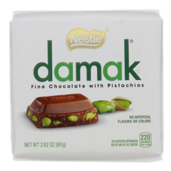 Nestle Damak with Pistachios Fine Chocolate