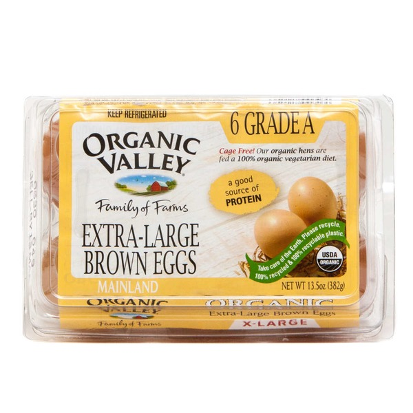 Organic Valley Organic Extra-Large Brown Eggs