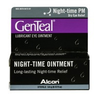 GenTeal Night-time PM Dry Eye Relief Lubricant Eye Ointment