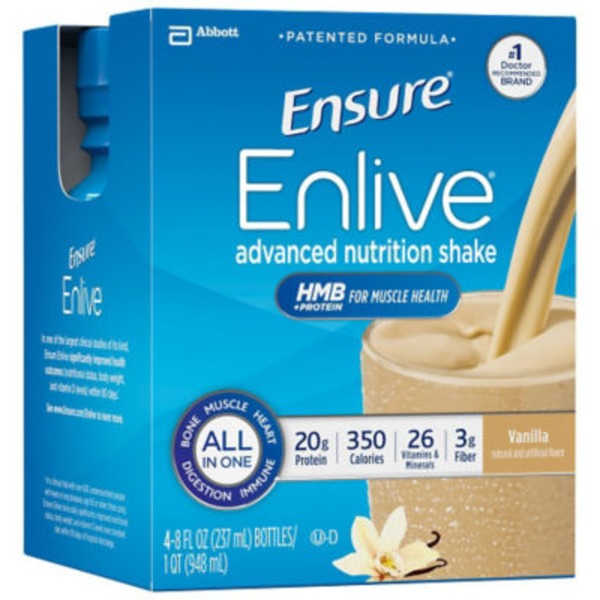 Ensure Enlive Vanilla Advanced Nutrition Shake