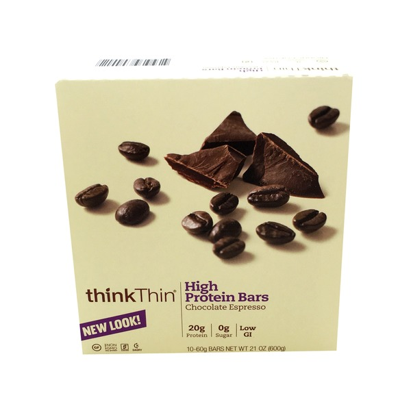 ThinkThin Chocolate Espresso High Protein Bar