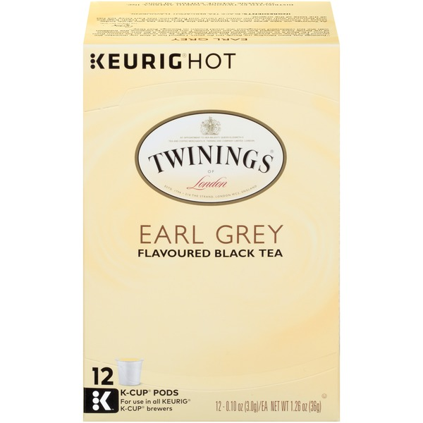 Twinings Earl Grey Flavoured Black Tea K-Cup Pods