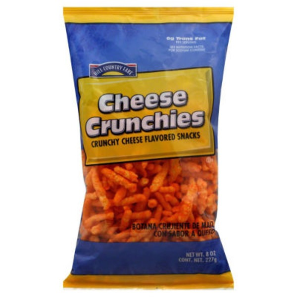 Hill Country Fare Cheese Crunchies